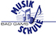 Logo musikschule badgams