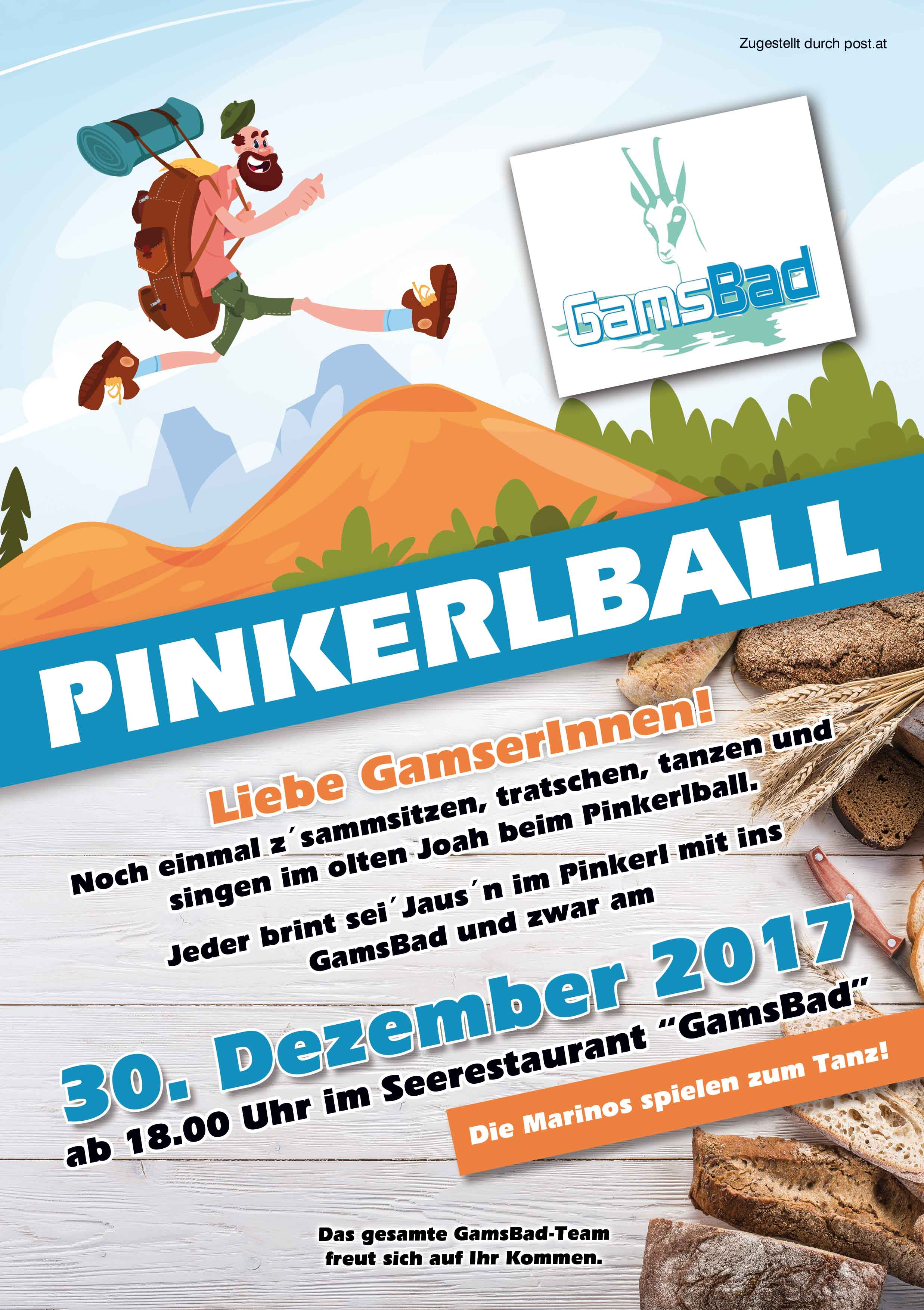 Flyer Pinkerlball